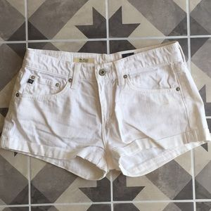 AG white shorts